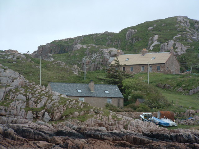 Houses at Dearg Phort