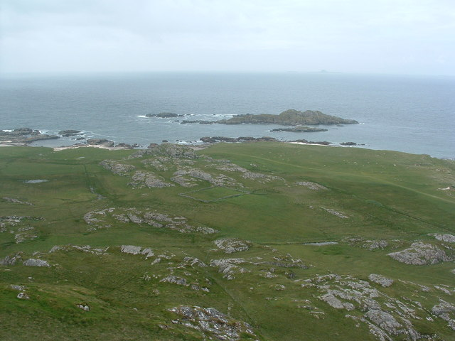 View NW from Dun I