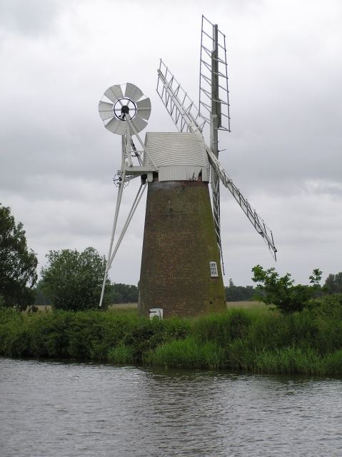 Turf Fen Drainage Mill, How Hill