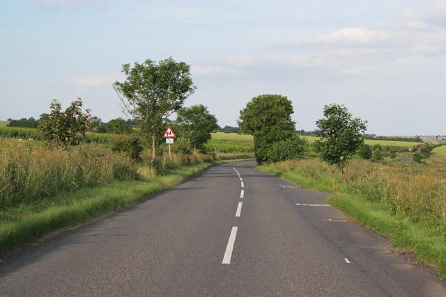Country road near North Luffenham