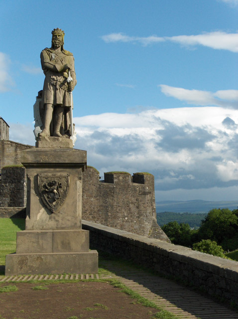 Robert the Bruce, Stirling Castle