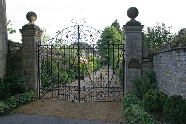 Gateway to North Luffenham Hall