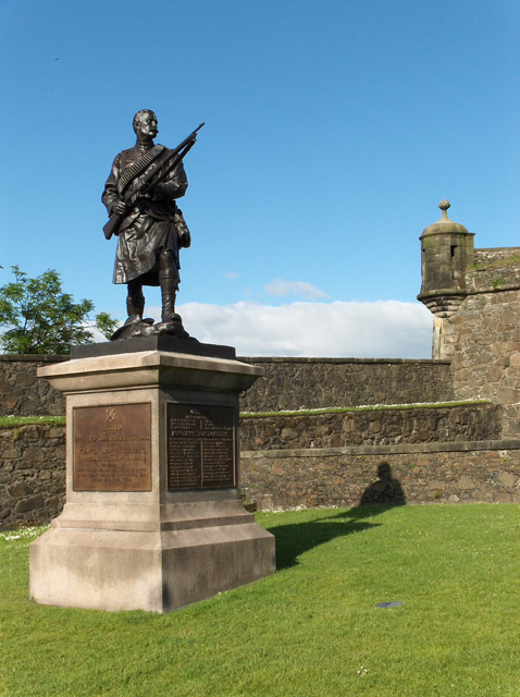 Boer War Memorial, Stirling Castle