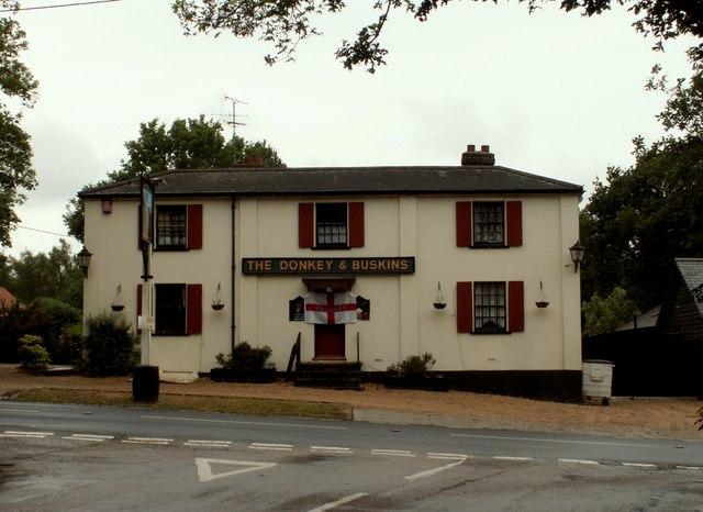 'The Donkey and Buskins' inn, Layer de la Haye, Essex