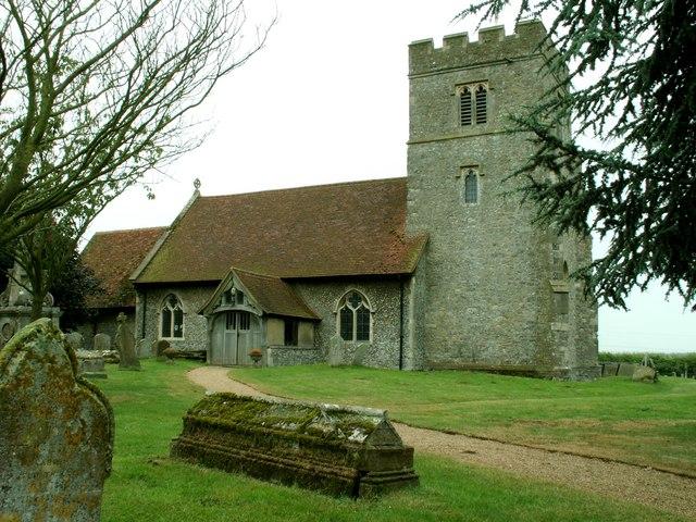 St. John the Baptist church, Layer de la Haye, Essex
