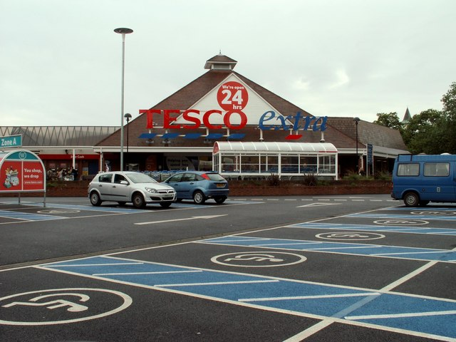Tesco at High Wood, Colchester, Essex