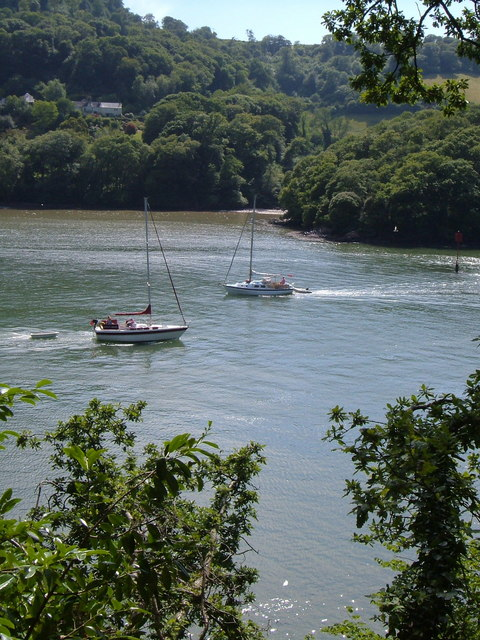 River Dart from Greenway Gardens