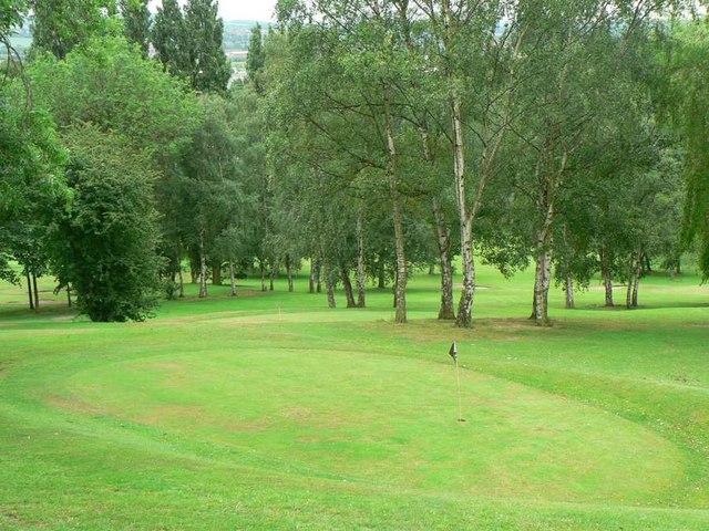 Golf Course, Holmfield Park, Wakefield