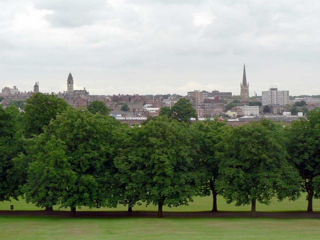 Clarence Park and Wakefield City Centre