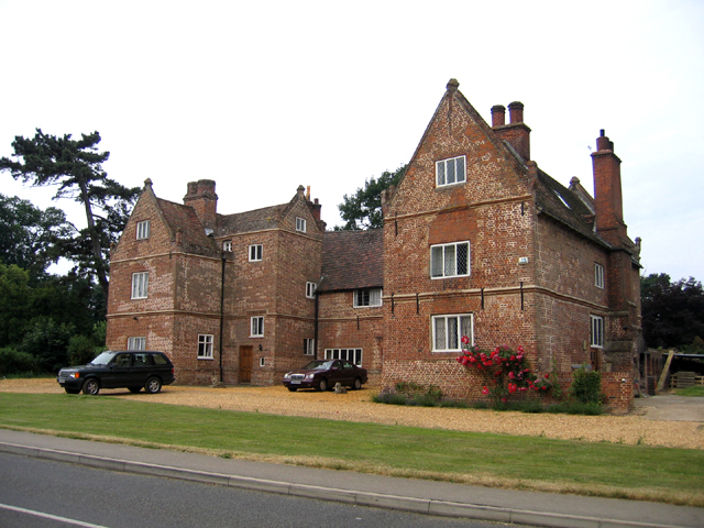 The Burystead manor house, Wilburton, Cambs