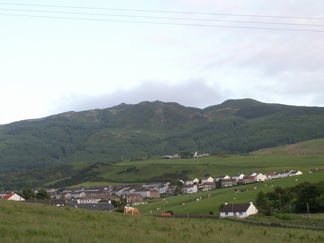 Beinn Ghuilean from Gallow Hill