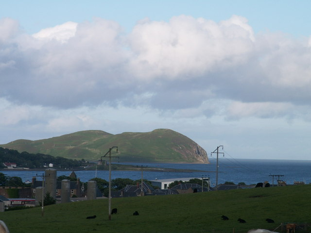 Island Davaar from Gallow Hill