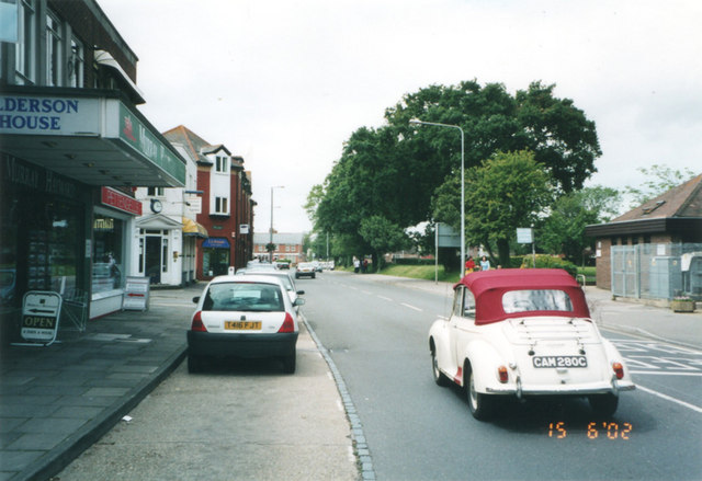 Old Milton Road, New Milton.