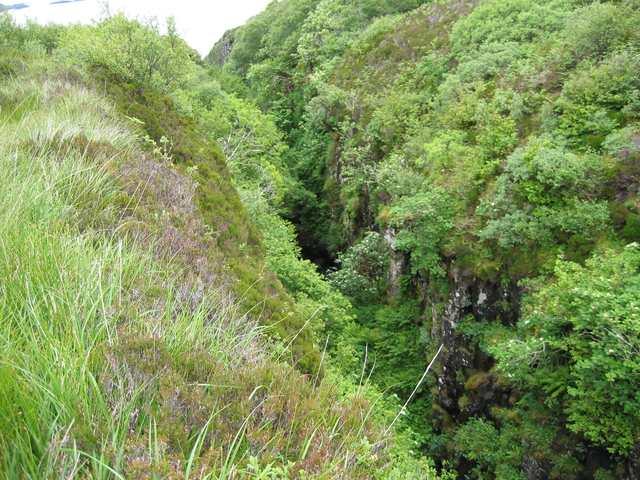 Gorge of the Abhainn a' Ghlinne