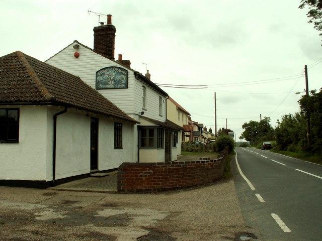 'George & Dragon' restaurant and bar, nr. Coggeshall, Essex