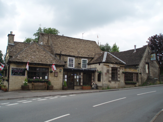 The Bell and Castle public house, Horsley