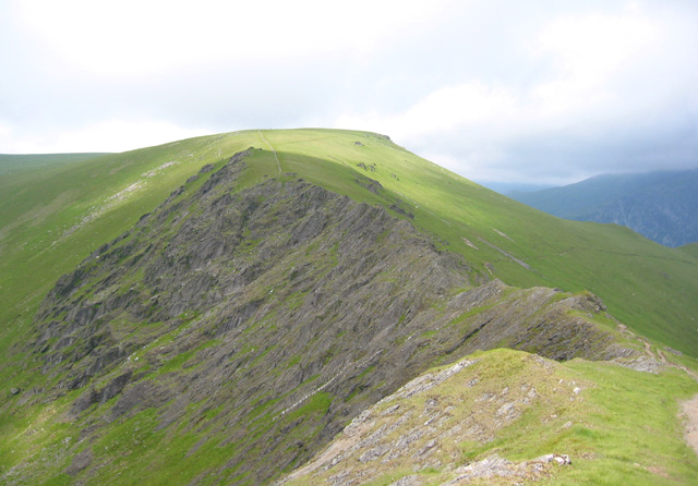 Bwlch y Marchlyn ridge