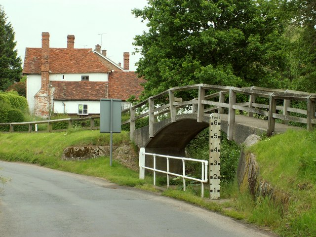 Footbridge at Great Easton, Essex