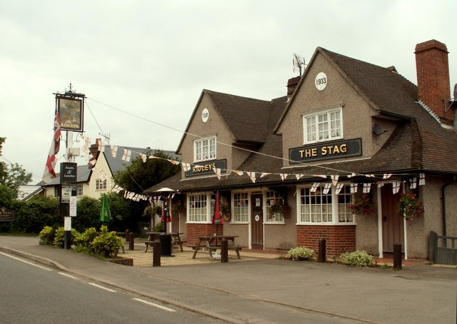 'The Stag' public house, Little Easton, Essex