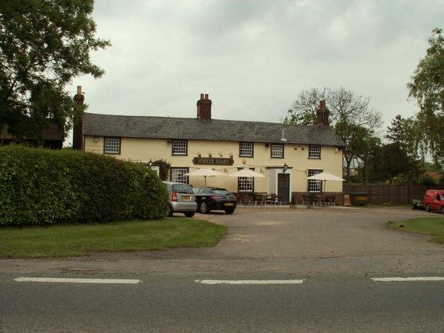 'White Hart' public house, Rowney Corner, Essex