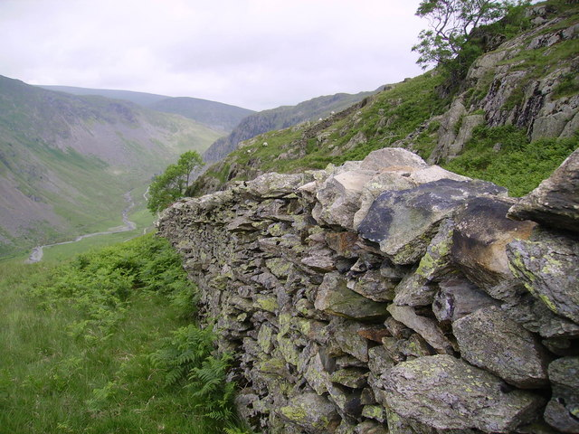 Wall under Great Howe
