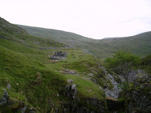Ruins Wrengill Quarry
