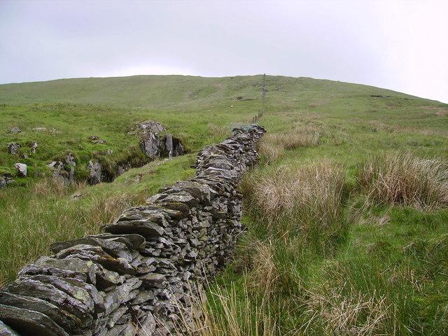 Wall Kentmere Pike