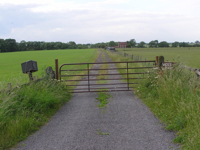 Lane to Westgate Farm