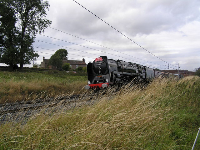 West coast main line at Kitchenhill