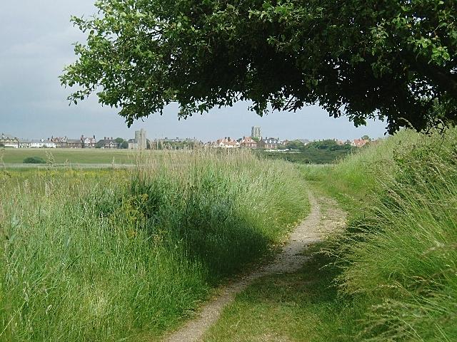Footpath near Southwold