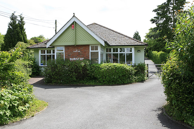 Doctors surgery, Spring Lane, Colden Common