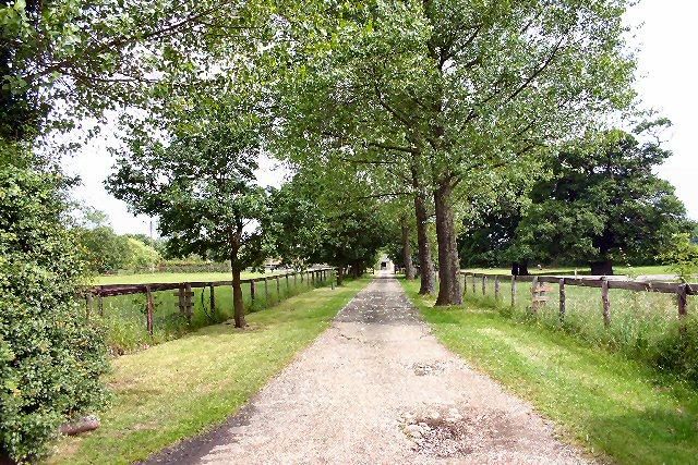 Driveway to Haygreen Farm