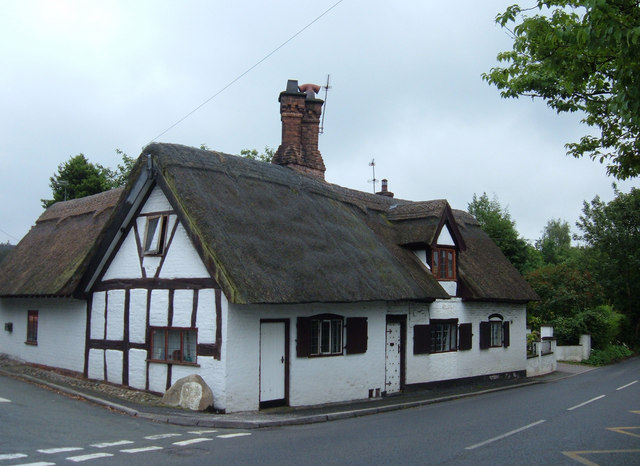 Thatched cottage, Whitegate, Cheshire