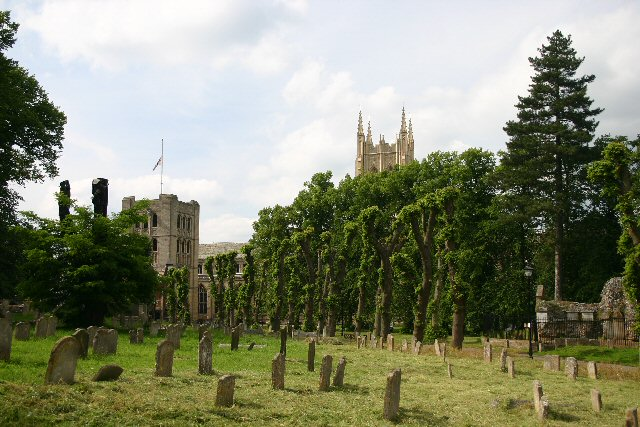 The Great Churchyard, Bury St Edmunds