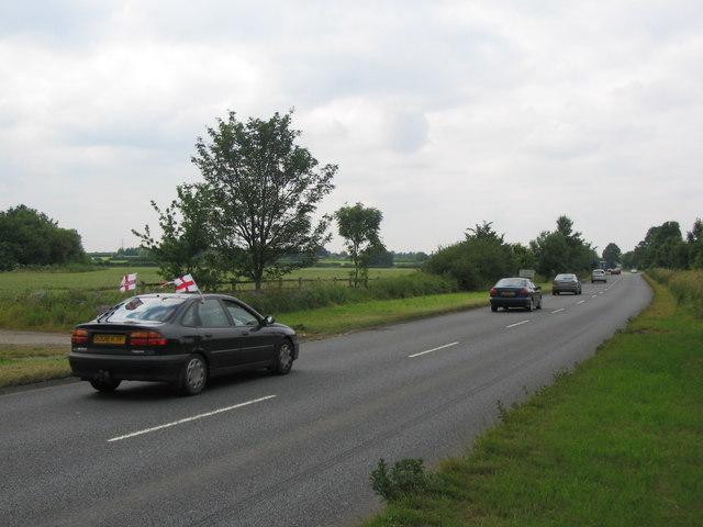Approaching Lacock