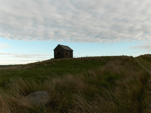 Hut above Keltie Water