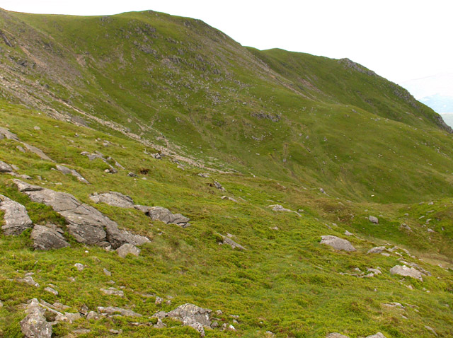 North-west ridge, Stuc a' Chroin