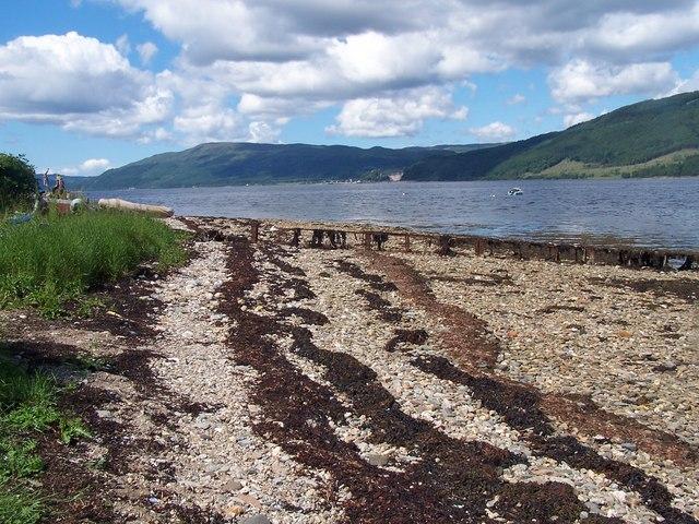 Loch Fyne, Capull Cruaidh Jetty