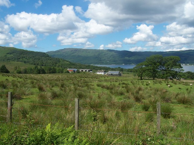 Loch Fyne, Drimdarroch Farm
