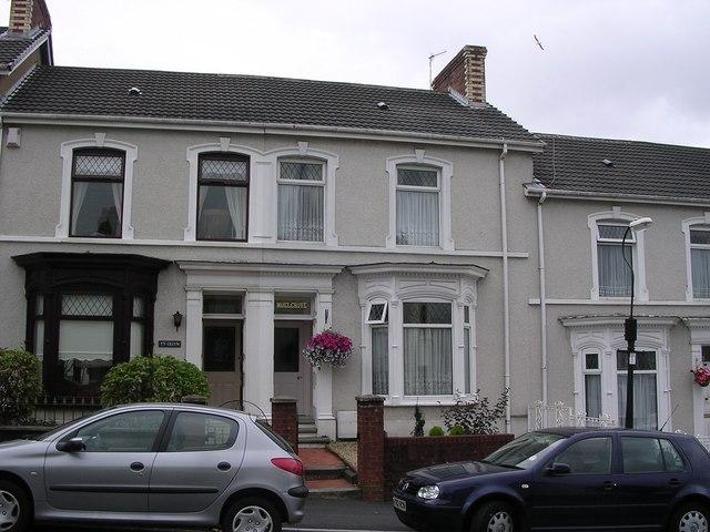 Victorian terrace houses, Llanelli