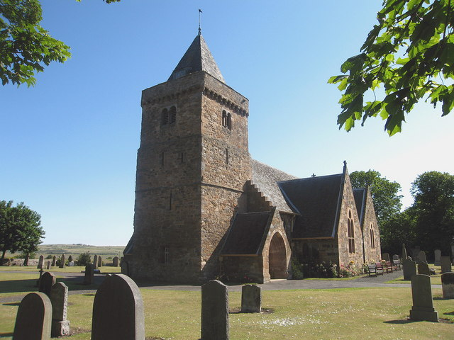 Aberlady Parish Church, with Doocot in Tower