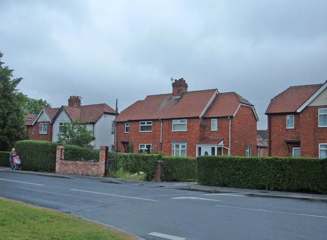 Suburban housing, Winsford