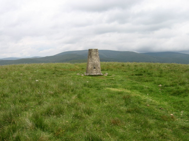 Annanhead Hill Trig Point S5678