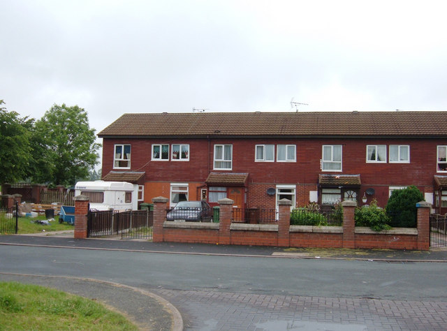 Housing on the Over Estate , Winsford