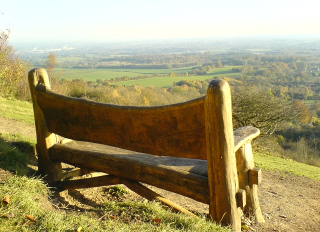 A Seat on Pilgrim's Way