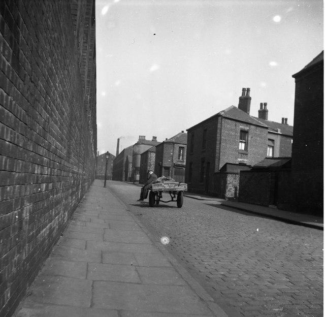 Rag and Bone Man, Miall Street, Rochdale, Lancashire