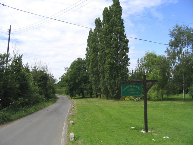 Chamberlains Farm, Butt's Green