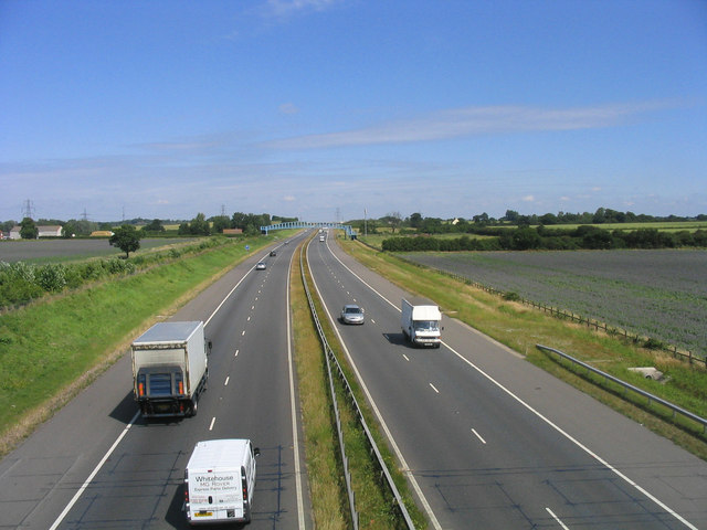 The new A130 link road