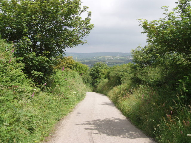 Lane to Hendra
