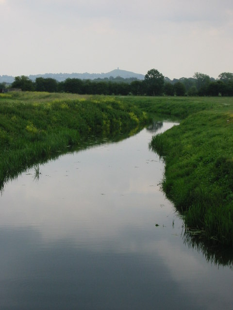 The River Brue, Westhay